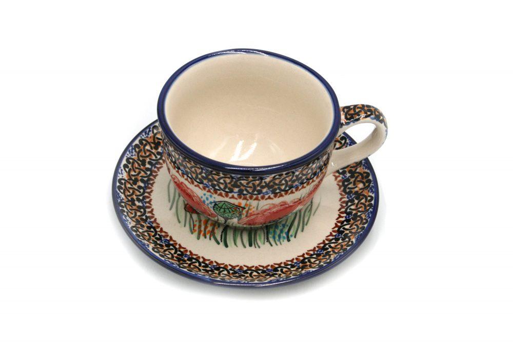 Filizanka Maki Millena Ceramika Boleslawiec 2