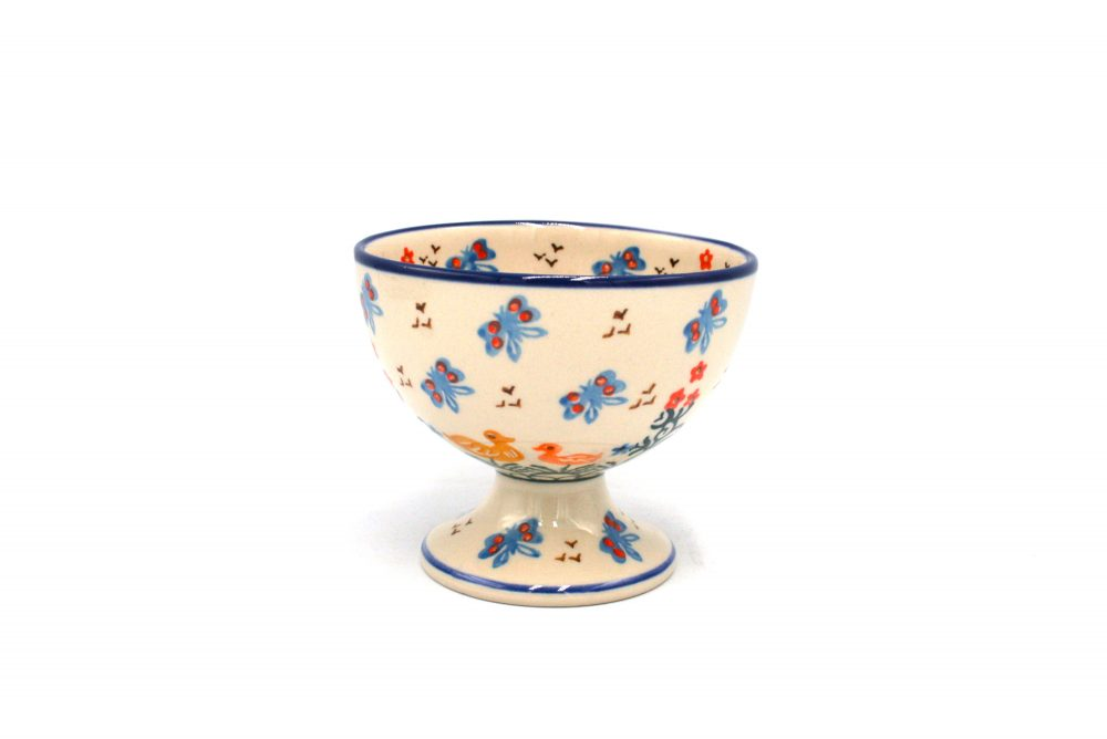 Ceramika Boleslawiec pucharek Boleslawiec kaczuchy