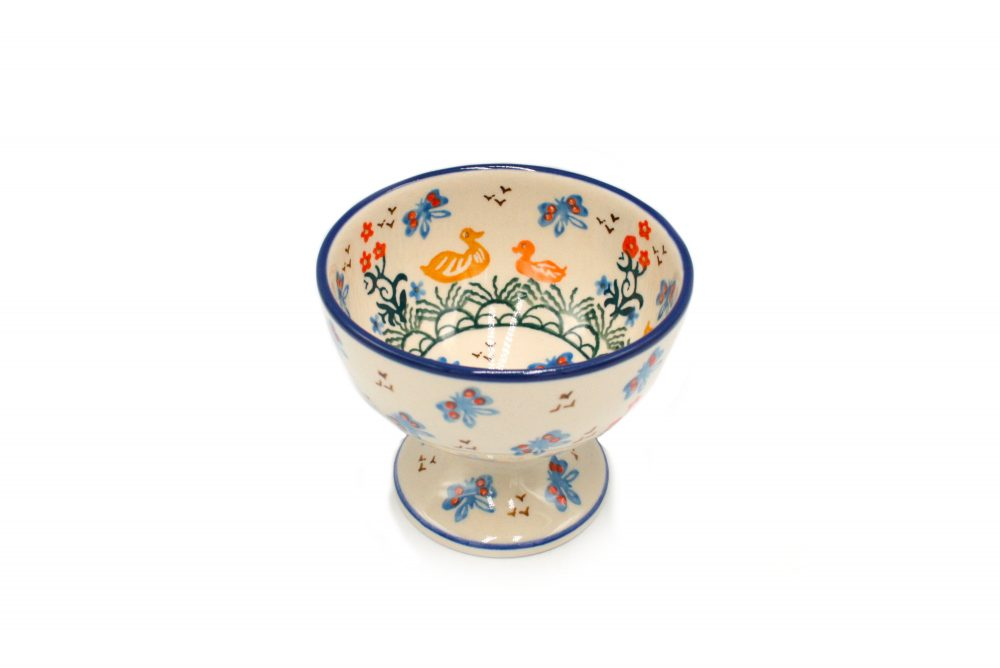 Ceramika Boleslawiec pucharek Boleslawiec kaczuchy I